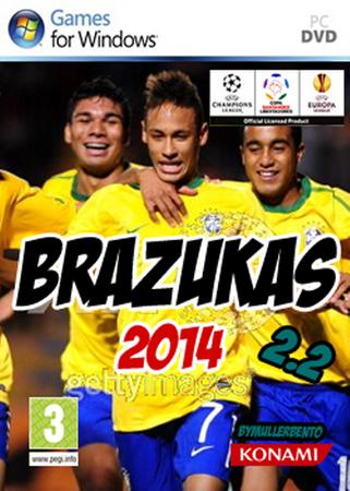 Download PATCH BRAZUKAS2014 v.3.6 FULL   Pes 2011      PC